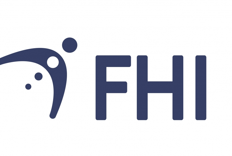 Bilde av logoen til folkehelseinstituttet, FHI.